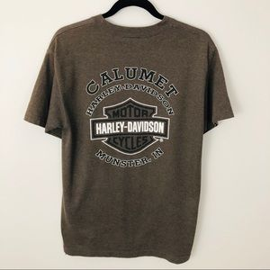 "Harley-Davidson Shirts - Harley-Davidson Munster, IN ""Wanna Ride"" tee"